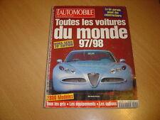 L'automobile Hors série N° 20 Toutes les voitures 97/98