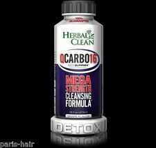 Herbal Clean QCARBO 16 GRAPE Detox Drink 16 oz with ELIMINEX