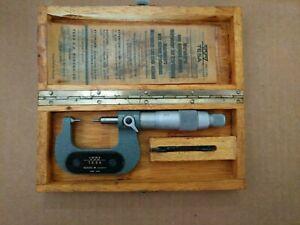 "Vintage TESA 0-1"" Swiss Made Micrometer"