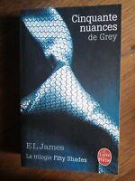 E.L. James : Cinquate nuances de Grey / Le livre de Poche, 2014