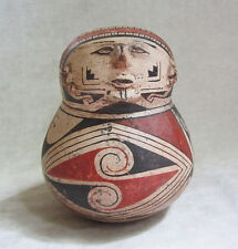 Pre-Columbian Casas Grandes Polychrome Human Effigy Vessel, ca. A.D. 1160-1260