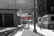 PHOTO  SWITZERLAND TRAIN 1984 GORNERGRATBAHN