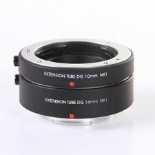US Electronic Auto Focus 10mm+16mm Macro Extension Tube Ring for Samsung NX Cam