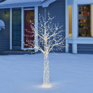 7ft (2.1m) Indoor/Outdoor Twinkle Christmas Tree Of Lights With 1,600 LEDs