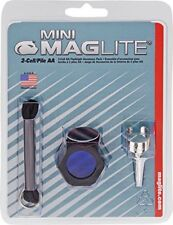 MINI MAGLITE 2-CELL AA FLASHLIGHT ACCESSORY PACK (AM2A016) USA MADE / BRAND NEW