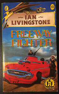 FREEWAY FIGHTER Fighting Fantasy #13 1985 1/9 Bronze Dragon Num Cover VG+