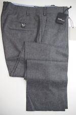 NWT SANTANIELLO SARTORIA Handmade Mid Gray Flannel Dress Pants US36 Rota Giab's