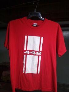 Oldsmobile 442 T Shirt Mens Large Adult Red. 1968 442