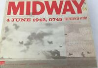 The Midway Story Board Game Naval-Air Battle Game 4 June 1942 0745 2-Players