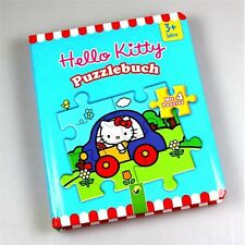 HELLO KITTY - Puzzlebuch mit 4 Puzzles - Neu OVP