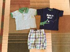 Lot of Boys Gymboree Summer Clothes Size 6-12 Months