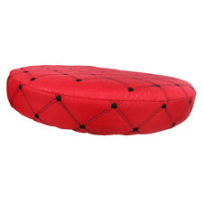 MagiDeal Home Bar Stool Seat Cover Cushion Round Stool Slipcover 14inch Red
