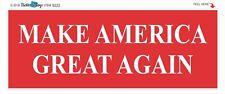 MAKE AMERICA GREAT AGAIN - TRUMP - CONSERVATIVE POLITICAL BUMPER STICKER #9222