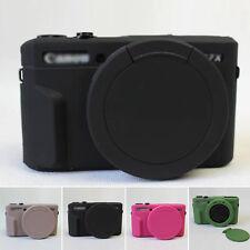 NEU Silikon Kamera Hülle Schutzhülle Cover Schutz für Canon G7 X Mark II Kamera