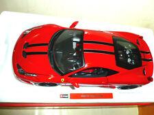 BURAGO signature 1:18 Modellino Ferrari 458 Speciale 2014 ROSSO CON BOX NUOVO!