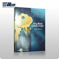 ILCO 12th EDITION KEY BLANK DIRECTORY & CROSS REFERENCE BOOK, TOOL LOCKSMITH