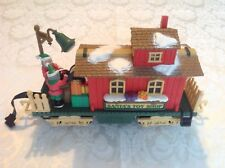 New Bright Holiday Express Animated Santa's Caboose #380 -free shipping