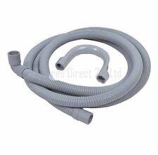 Washing Machine & Dishwasher Drain Hose Waste Pipe 2.5Metre  90DEG 19/22mm Bore