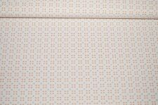 Jersey Feinjersey Stoff wollweiß gemustert ocker-grau #01088