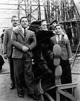 8x10 Print Boris Karloff Son of Frankenstein 1933 Set Candid #BK3