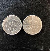 379 x Jokers Joker Medaille Wertspielmünze Token Coin Münze