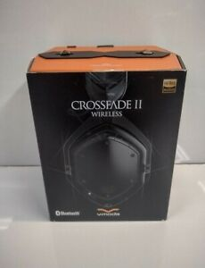 V-MODA Crossfade 2 Wireless Headphones (Matte Black) XFBT2-MBLACKM