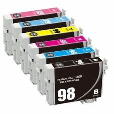 6 PK 98/99 Black Color Ink Cartridges for Epson Artisan 800 810 835 837 Printer