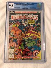 Marvel Super Hero Contest of Champions #1 CGC 9.6 NM Avengers X-Men Thor FF HULK