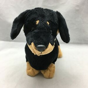 "Oscar Dachsund Puppy Dog Ganz Heritage Collection H5840 Plush 10"" Toy Lovey"