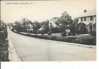 CH-498 NJ, Lafayette, Residential Scene Around, Divided Back Postcard
