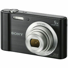Sony Cyber-Shot DSC-W800 Black Digital Camera {20.1 M/P }