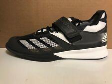newest 3cd63 d5758 Nuevas Adidas Crazy poder Negro Blanco Zapatos De Levantamiento De Pesas Para  Hombre Talla 9.5   BA9169