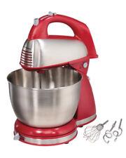 Hand and Stand Mixer Baking Kitchen Bowl 4 Quart Hamilton Beach Beater 6 Speed