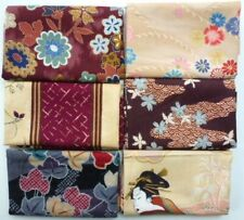 Fabric Fat Quarters 6 Pack Japanese J 38 A