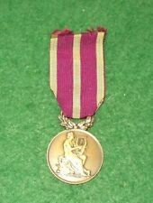 FRENCH MEDAL OF HONOUR OF THE MUSICAL AND CHORAL SOCIETIES (BRONZE)