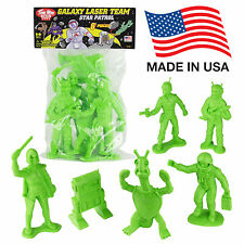 TimMee Processed Plastic Big GALAXY LASER TEAM Tim Mee STAR PATROL Space Figures