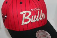 Chicago Bulls NBA Mitchell & Ness Team Script Snapback,Hat,Cap       $ 30.00 NEW