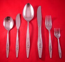 Oneida Lasting Rose Stainless Oneidacraft Deluxe Flatware Your Choice