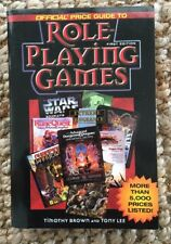 ROLE-PLAYING GAMES OFFICIAL PRICE GUIDE 1998 Illustrated