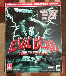 Evil Dead Hail To The King Prima Strategy Game Guide