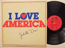 JUDITH DOW I LOVE AMERICA LP OF PATRIOTIC SONGS