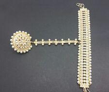 Manjoos (hathpanja)  gold with pearls