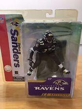 Deion Sanders Collectors Club Exclusive Baltimore Raven BLACK Jersey NFL New HTF