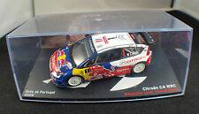 Kiosque ◊ Rallye de Portugal 2009  ◊ Citroën C4  WRC ◊ 1/43 ◊ en boite / boxed