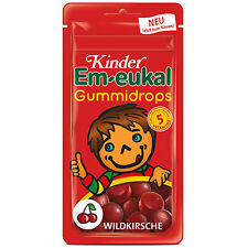 Made in Germany- Em-Eukal Gummy Vitamin Candy for kids -CHERRY-Sugar Free-75g