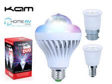 Kam Moonbulb DUO Led Rotating Bulb Lighting Effect Disco Party CLUBDJ *FREE P&P*