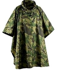 LADIES WATERPROOF WINDPROOF PONCHO camo camping hiking horse riding trek jacket