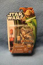 Star Wars 2013 Clone Wars WAVE 1 CW09 Battle Droid - Canadian Yoda Card