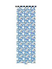 Kindergardine Vorhangschal Peanuts SNOOPY lichtdurchlässig 145x245 blau-weiß NEU