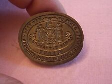1910 Edwin Thatcher Brooklyn (built BAM) Corporate Seal Bronze Die